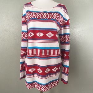 Urban Outfitters Truly Madly Deeply Aztec Tunic